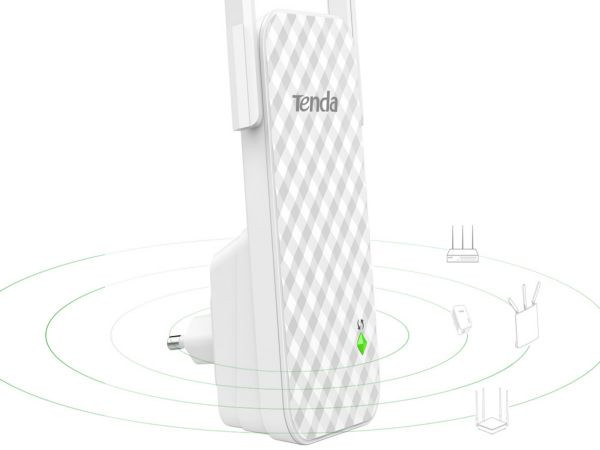 Tenda A9 WiFi ripiter/ruter 300Mbps Repeater Mode Client+AP white (Alt WNP-RP300)