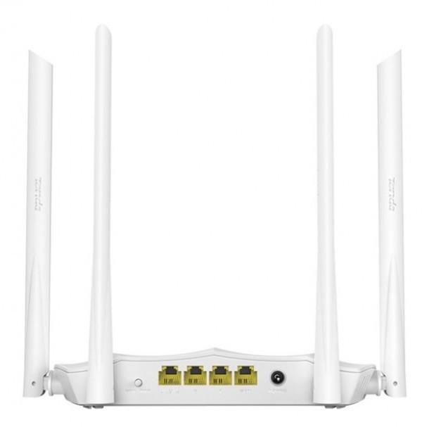 TENDA AC5 v3 white AC1200 wireless dual band ruter 2.4+5GHz, 1W/3L 10/100, 1Ghz cpu, 4x5dBi , 9v/1