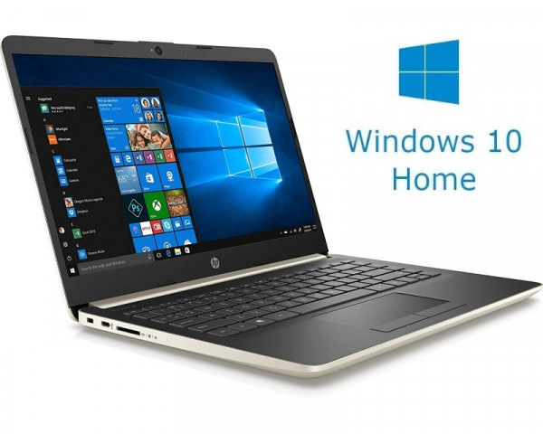 HP 14-DQ0003 14'' Celeron N4020 4GB 64GB Win10Home zlatni