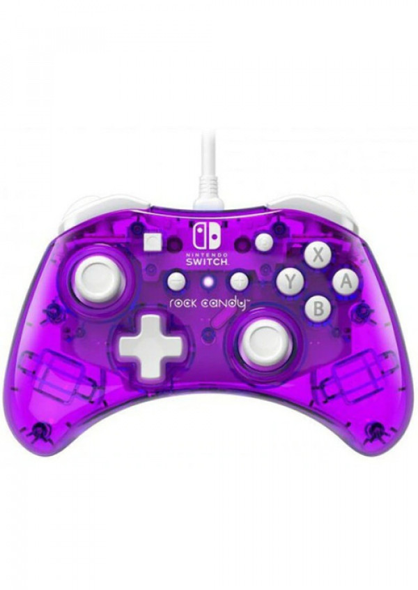 Nintendo Switch Wired Controller Rock Candy Mini Cosmo Berry