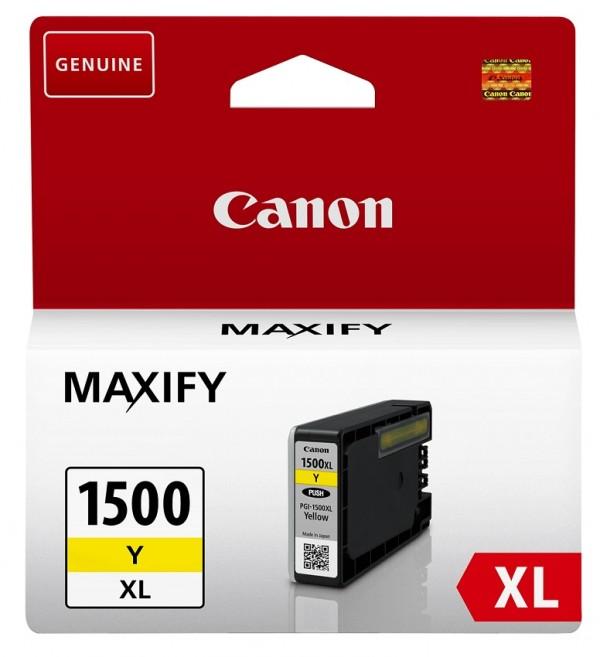 Canon IJ-CRG PGI 1500XL Y EUR