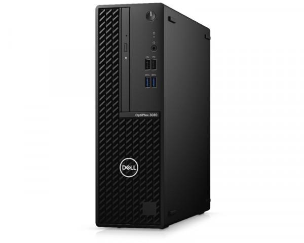 DELL OptiPlex 3080 SF i3-10105 8GB 256GB SSD DVDRW Ubuntu 3yr NBD