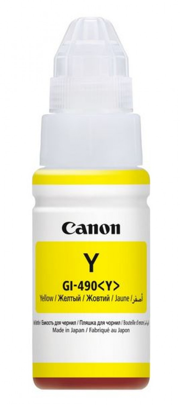 Canon INK Bottle GI-490 Y EMB