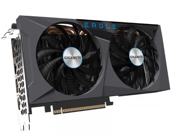 GIGABYTE nVidia GeForce RTX 3060 Ti EAGLE 8GB GV-N306TEAGLE-8GD rev 2.0 LHR