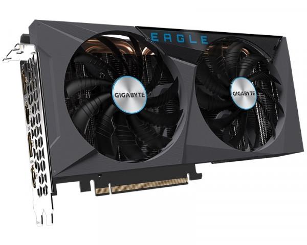 GIGABYTE nVidia GeForce RTX 3060 Ti EAGLE OC 8GB GV-N306TEAGLE OC-8GD rev 2.0 LHR
