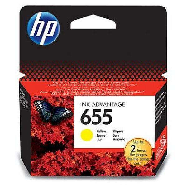 SUP HP INK CZ112AE Yellow No.655