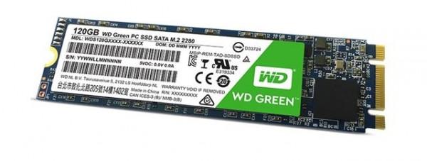 SSD M.2 120GB WD WDS120G2G0B