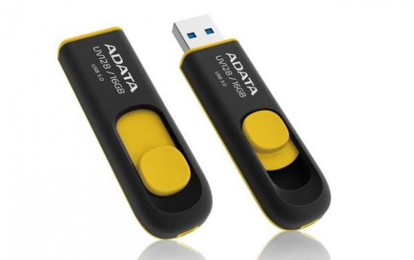 USB memorija Adata 16GB UV128 Yellow AD