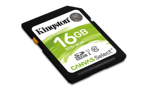 SD CARD 16GB KINGSTON SDS16GB