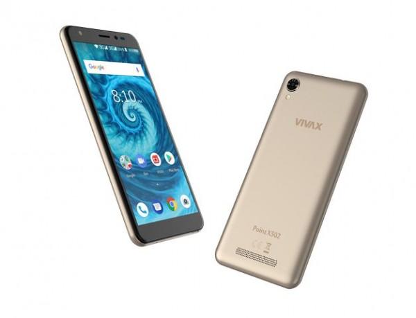 VIVAX SMART Point X502 zlatni telefon