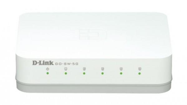 Switch 5-portni gigabitni D-Link GoSwitch5G