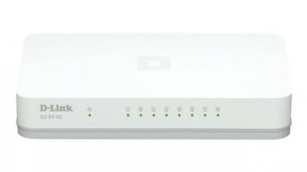 Switch 8-portni gigabitni D-Link GoSwitch8G