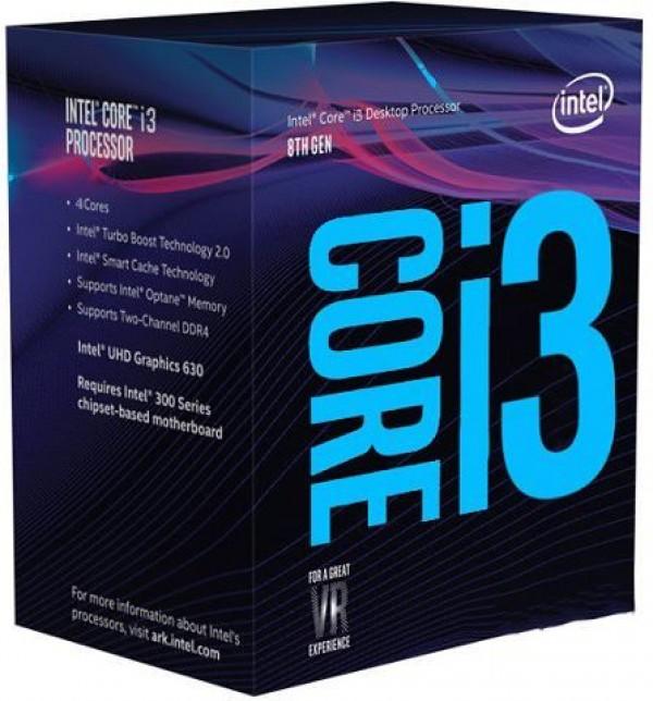 CPU INTEL Core i3 8100