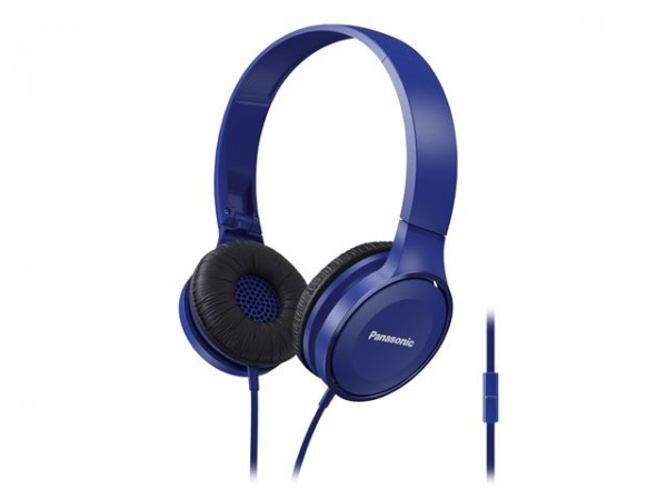 PANASONIC slušalice RP-HF100ME-A plave sa mikrofonom