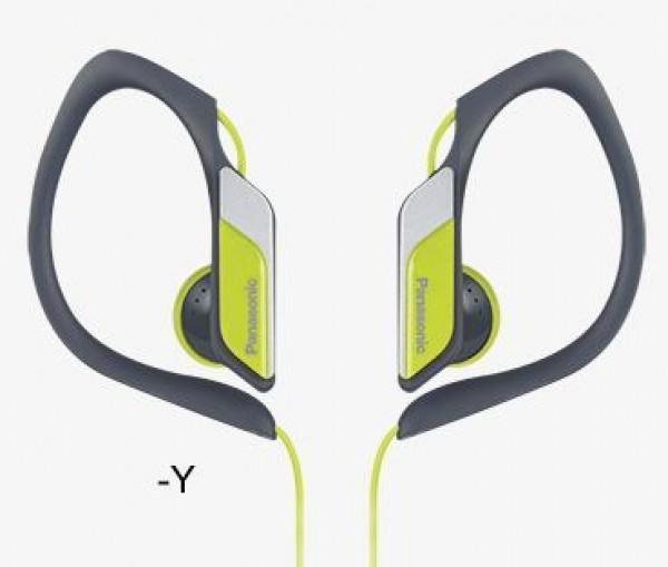 PANASONIC slušalice RP-HS34E-Y žute, sportske, vodootporne
