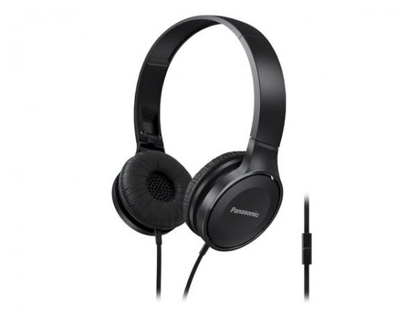 PANASONIC slušalice RP-HF100ME-K crne sa mikrofonom