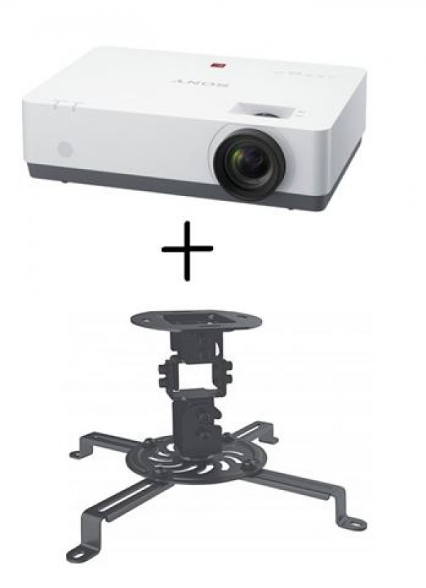 PROJEKTOR SONY VPL-EX435XGA 3200 ANSI+nosač