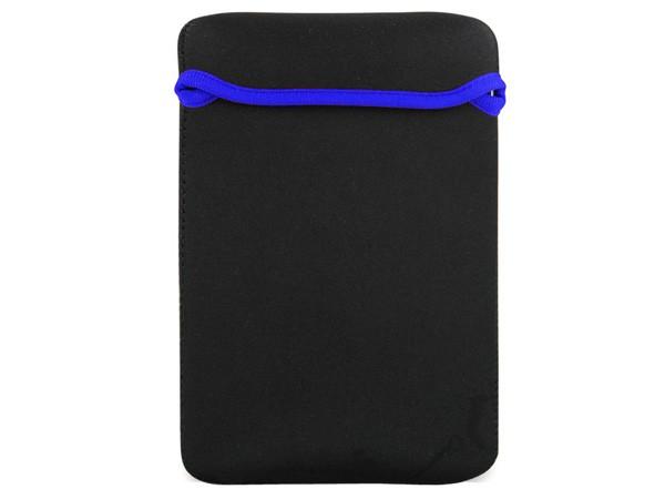 Tablet futrola, neoprene, crna sa plavom linijom, 7''-7.9''