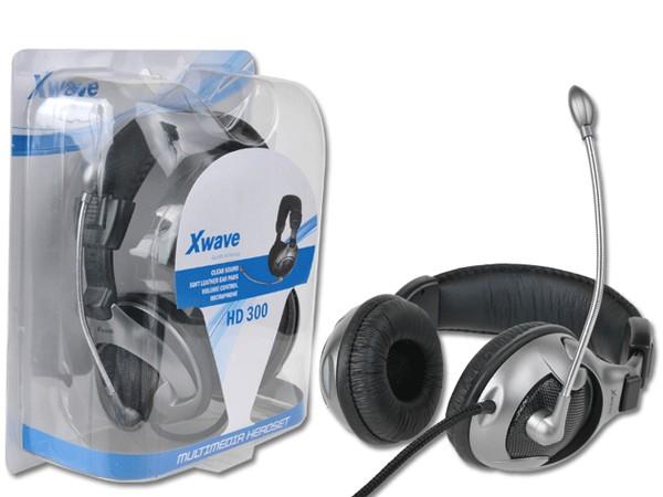 Slušalice, stereo/Mic & Volume control, blister HD-300 017214