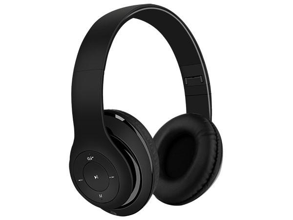 BT stereo slusalice sa mikrofonom v4.2,FM,microSD,Baterija 200mAh,8-9h razgovor,10m udaljenost,Crna 024079