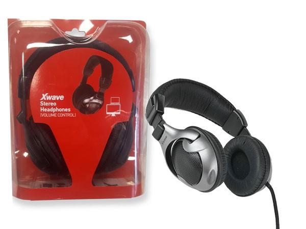 Slušalice, stereo, Volume control,  blister (kabl 1.2m)