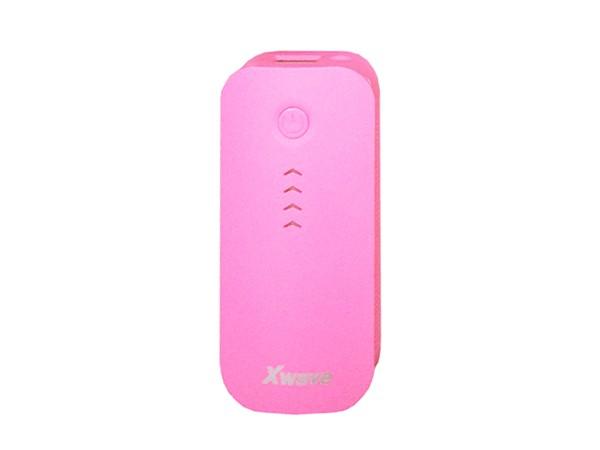 Dodatna baterija(backup) 4400mAh/2A/, USB&USB micro kabl,pink