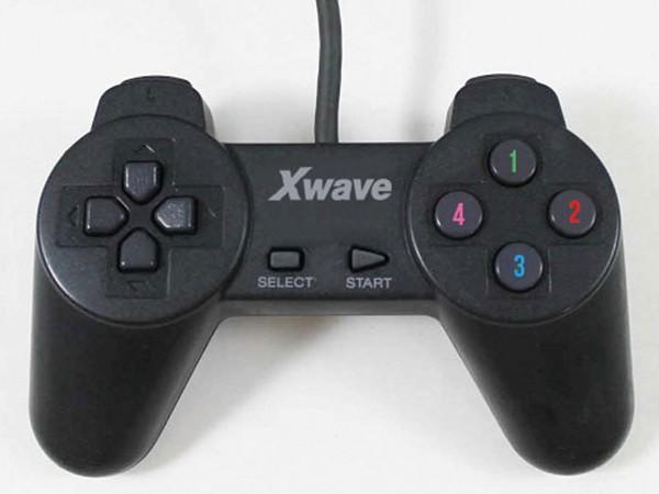 PC Gamepad USB, 12 akcijskih tastera, cross control
