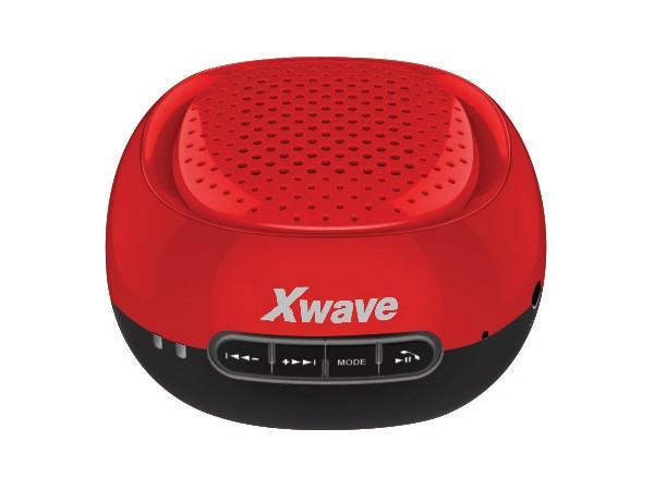 Xwave BT zvucnik ,FM Radio, Micro SD, USB , crveni sa crnim dnom