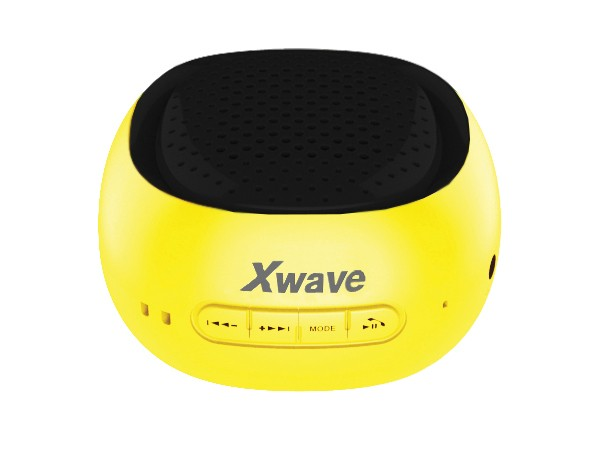 Xwave BT zvucnik, FM Radio, Micro SD, USB zuti sa crnom mrezicom 023069