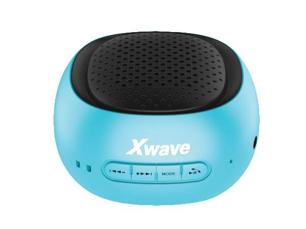 Xwave BT zvucnik ,FM Radio, Micro SD, USB ,plavi  sa crnom mrezicom