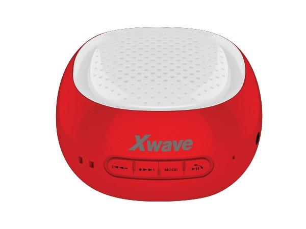 Xwave BT zvucnik ,FM Radio, Micro SD, USB , red sa belom mrezicom 022721