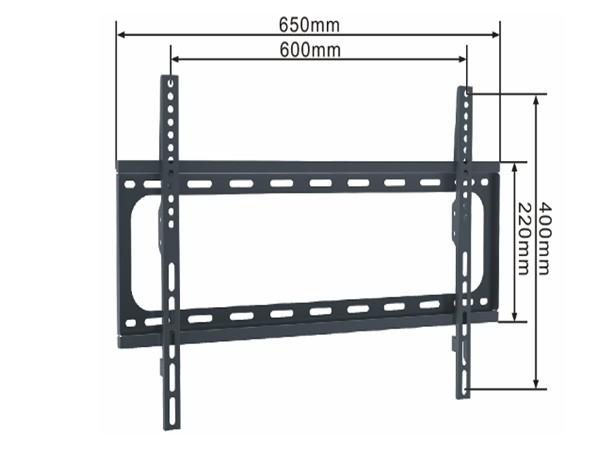 Xstand nosac za TV, dijagonala 37''-70'',  VESA: 600x400, nosivost do 50kg