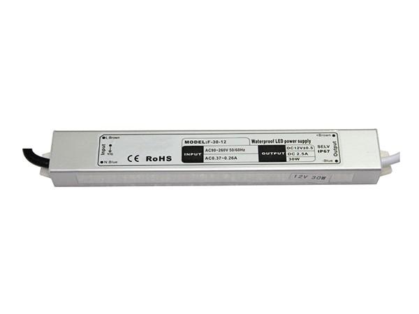 Vodootporni uredjaj za napajanje 30W/12V,2.5A