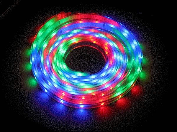 Led traka, RGB+W one row,60 Led dioda/m,IP20,bez zastite,14.4W/m,10-12lm,5m kotur