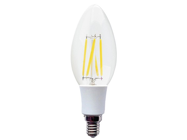 Led Sijalica Filament E14 4W,Toplo bela, 2700K, candle 022926