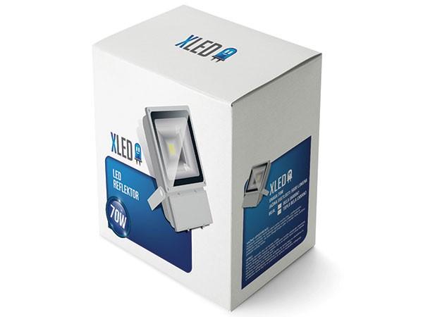 Led reflektor 70W, Beli,IP 65, AC85-265V