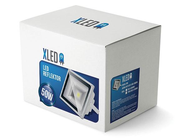 Outlet Led reflektor 50W,Toplo Beli,IP65, AC85-265V