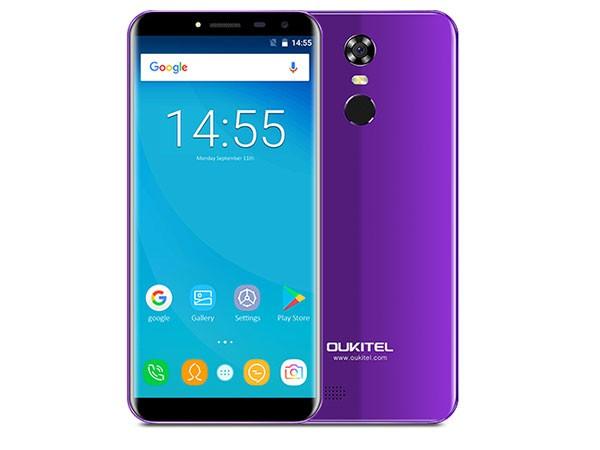 Smart phone/MT6580A Quad-core 1.3Ghz/ 5.5''HD/16GB ROM/2GB RAM/13MP+5MP/3000mAh/DualSIM/Android 7.0, ljubičasta