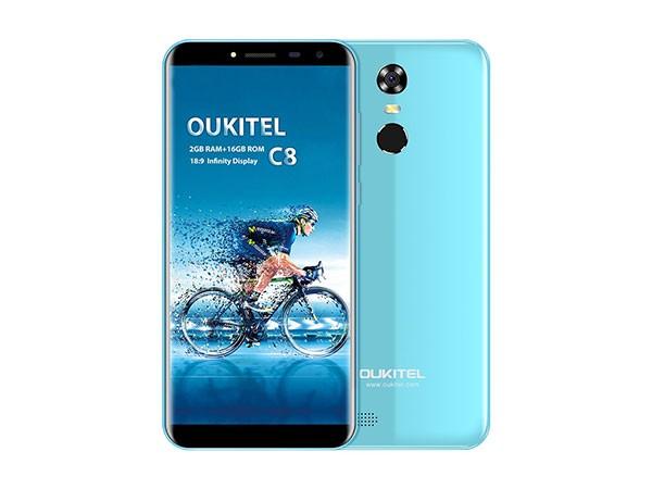Smart phone/MT6580A Quad-core 1.3Ghz/ 5.5''HD/16GB ROM/2GB RAM/13MP+5MP/3000mAh/DualSIM/Android 7.0, plavi