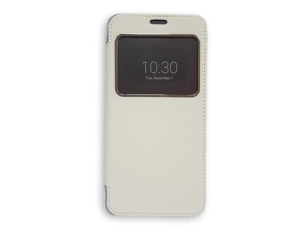Kozna futrola za Oukitel U7Pro mobilni telefon bela