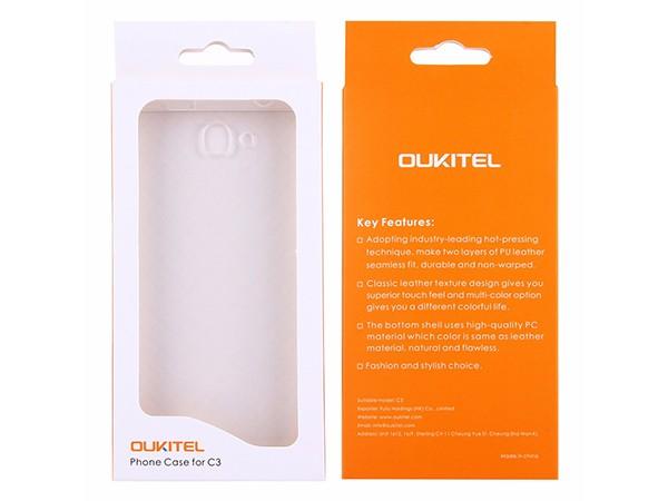 Zastita silikon futrola za Oukitel C3 mobilni telefon