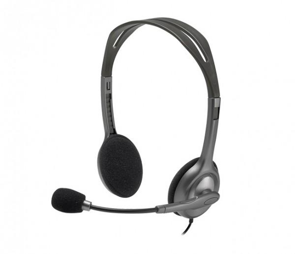 Logitech H111 Stereo Headset Single 3.5mm jack, New