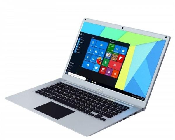 NJOY Ediam 14.1'' FHD Intel N4000 Dual Core 1.10GHz (2.6GHz) 4GB 32GB SSD Windows 10 Home 64bit sivi