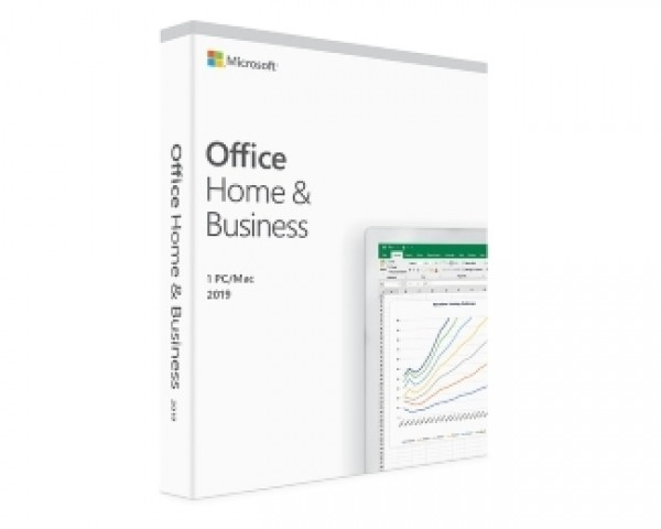 MICROSOFT Office Home and Business 2019 English CEE Only Medialess T5D-03245