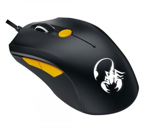 Genius Mouse SCORPION M6-600, WG, BLACK+ORANGE