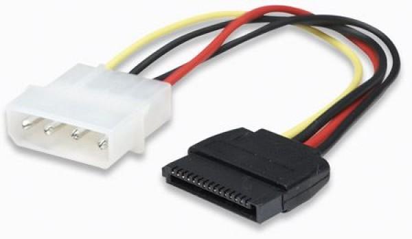 MH kabl SATA naponski, molex 4 na 15 Pina, 16cm