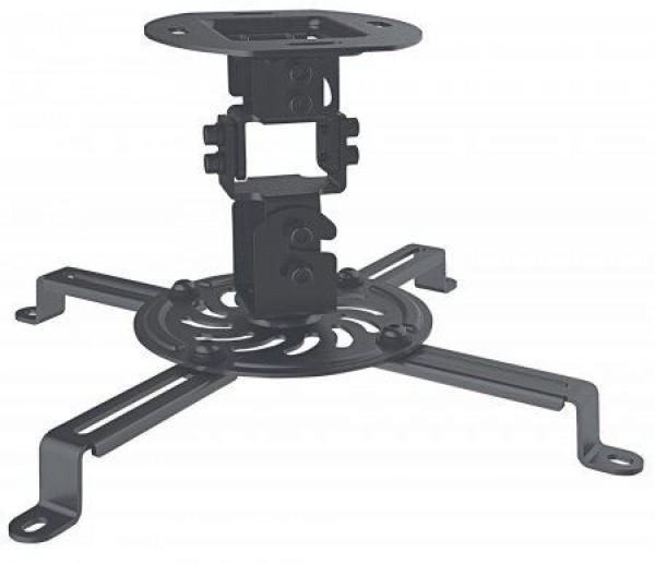 MH nosač za projektore-plafon univerzalni, crni, do 13,5kg