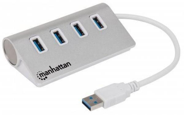 MH adapter USB 3.0Muški Type-A USB 3.0 Ženski 4 porta,beli