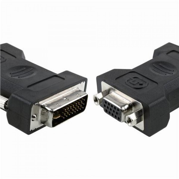 Konektor MS DVI-A to VGA , DVI-A M - VGA 15pin F RETAI