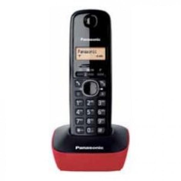 PANASONIC telefon KX-TG1611FXR crno-crveni